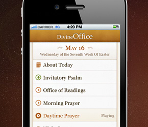 Divine Office - iPhone and iPad App
