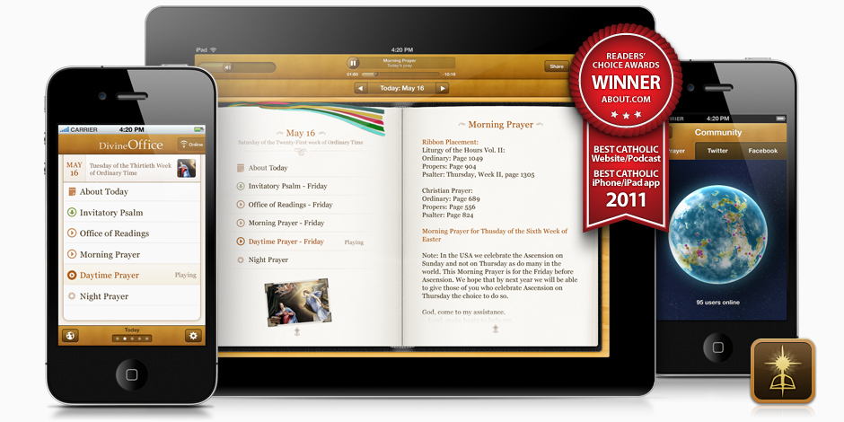 Divine Office App for iPad and iPhone