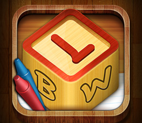 Letter Blocks World - iPhone Game
