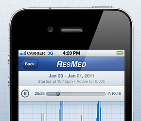 Resmed Sleep Assessment App Thumbnail